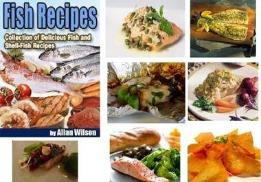 With these Collection of Seafood Recipes, You'll find Recipes of Salmon, Codfish, Haddock, Halibut, Turbot, Shad, Blue-fish, Black-fish, White-fish, Sea-Bass, Rock-Bass, Sword Fish, Mullet, Mackerel, Eels, Lobsters, Oysters, Crabs, Shrimp, Clams, Scollops and more...