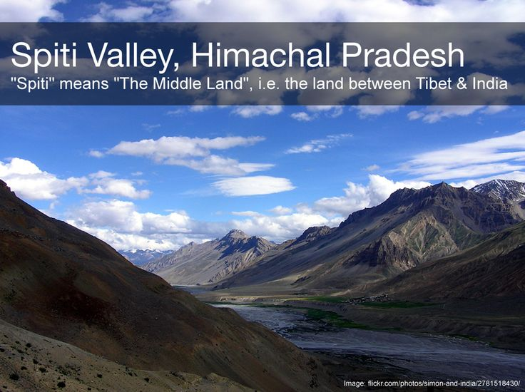 The gorgeous Spiti Valley is a desert mountain valley in India and is the gateway to the northernmost reaches of the nation. Read More about Spiti and other  Off-Beat Places To Visit in Indian state of Himachal Pradesh