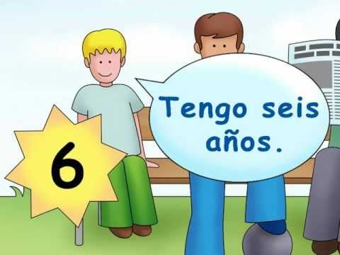 """¿Cuántos años tienes?"" - teach students how to ask someone's age in Spanish!"