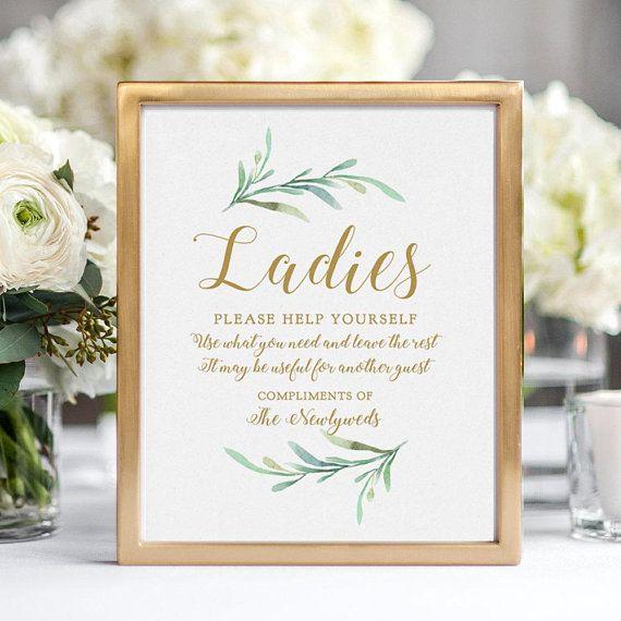 Bathroom Basket Sign Printable Wedding Basket Sign Ladies And Etsy Wedding Bathroom Wedding Bathroom Signs Bathroom Basket Wedding