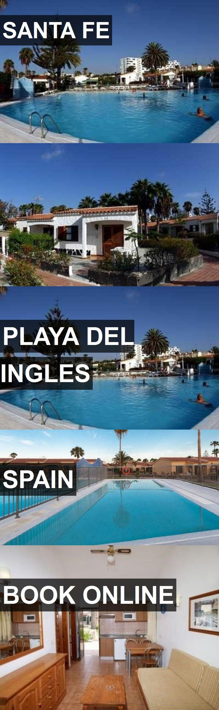 Hotel SANTA FE in Playa del Ingles, Spain. For more information, photos, reviews and best prices please follow the link. #Spain #PlayadelIngles #travel #vacation #hotel