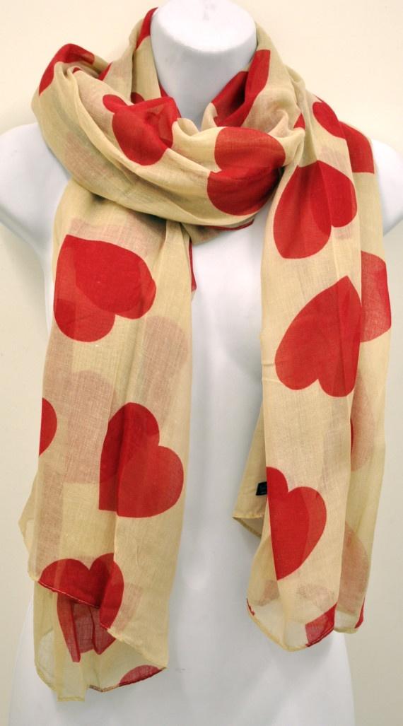 Pañuelos Love Heart, Complementos, Pañuelos