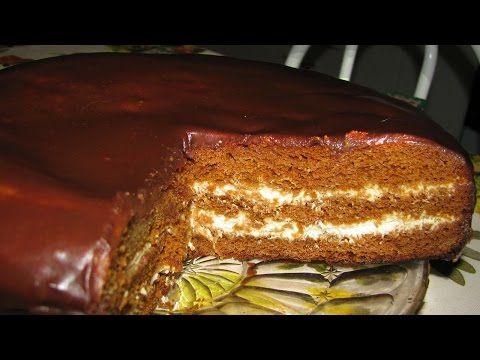 Бисквитные торты рецепты с фотографиями медовик
