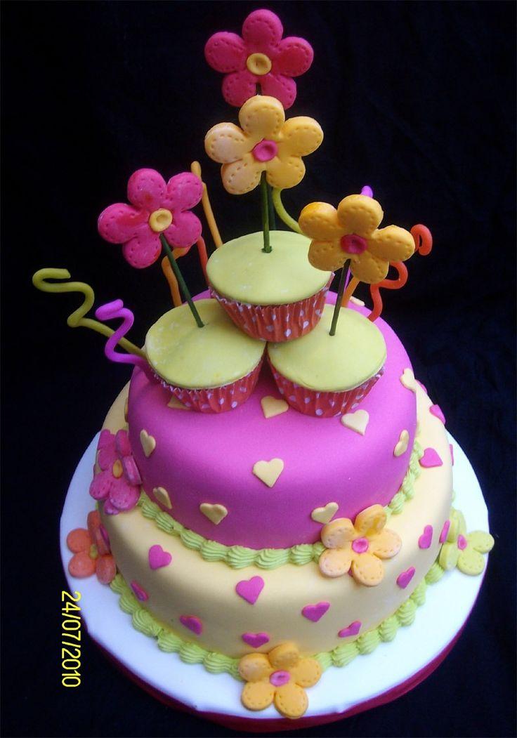 Birthday Cake Tortas Para Chicos Tortas Con Fondant