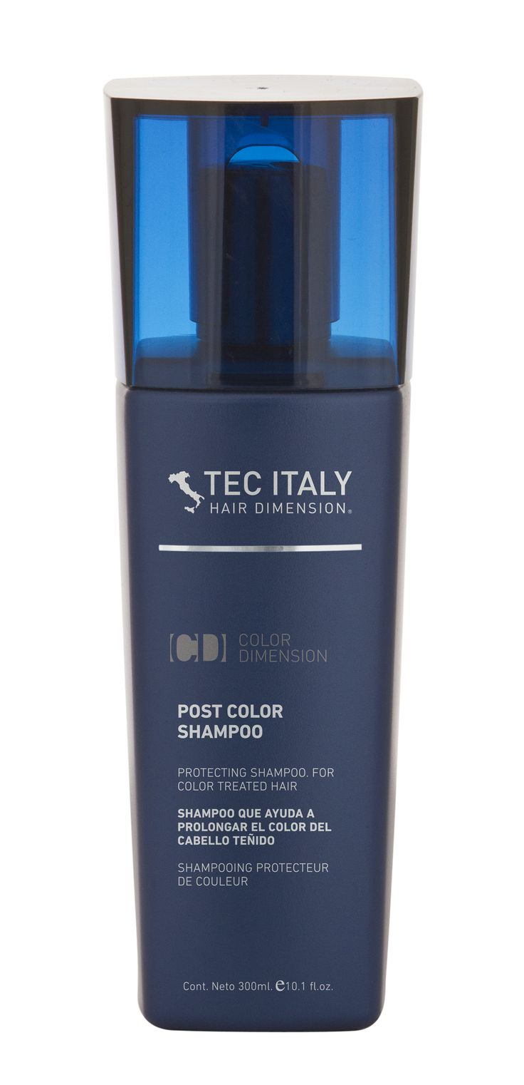 SHAMPOO POST COLOR  Especial para cabello  teñido. Después de un tinte o un proceso químico  ayuda  a  cerrar la  cutícula, dando  como  resultado una mejor  fijación del color en el cabello  y la prolongación el tiempo  de vida del color.