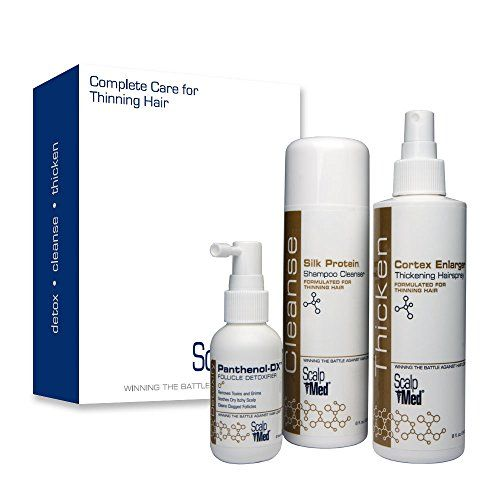 Scalp med complete care kit helps detox and cleanse for fuller thicker looking hair fast. A healthy scalp is essential for healthy hair and scalp med's complete care kit provides all of the essential...
