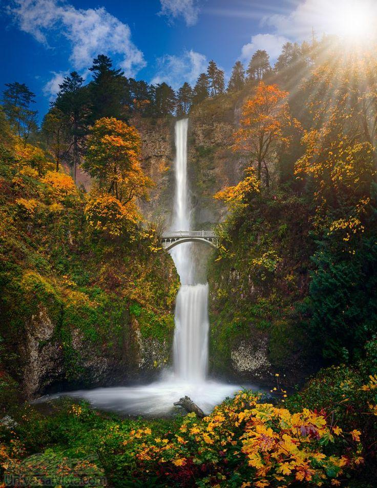+1000 ideias sobre Cataratas Multnomah, Oregon no ...