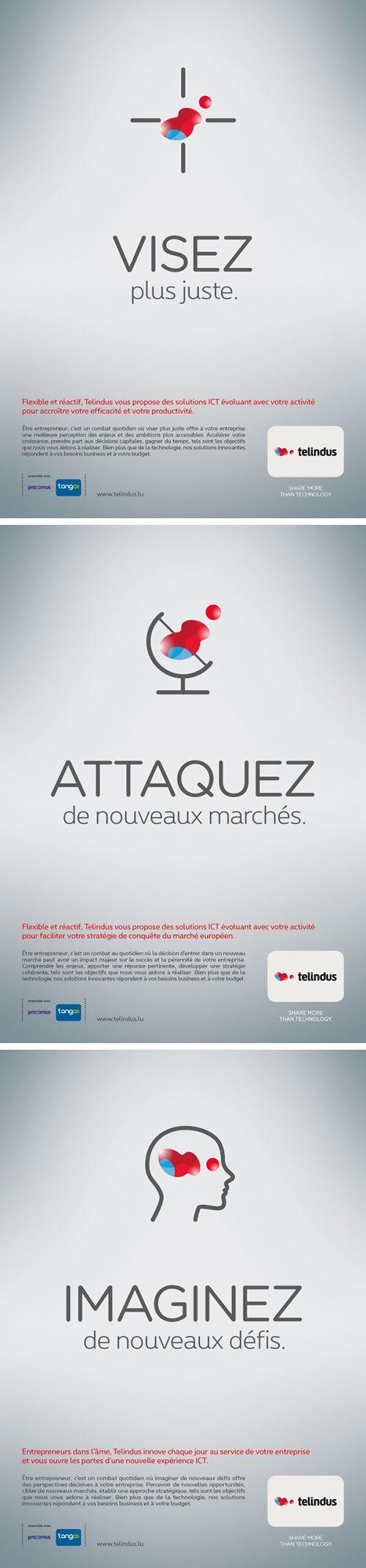 Annonceur : Telindus Campagne : Corporate 2016 Agence : Concept Factory Publiation : 4eme trimestre 2015