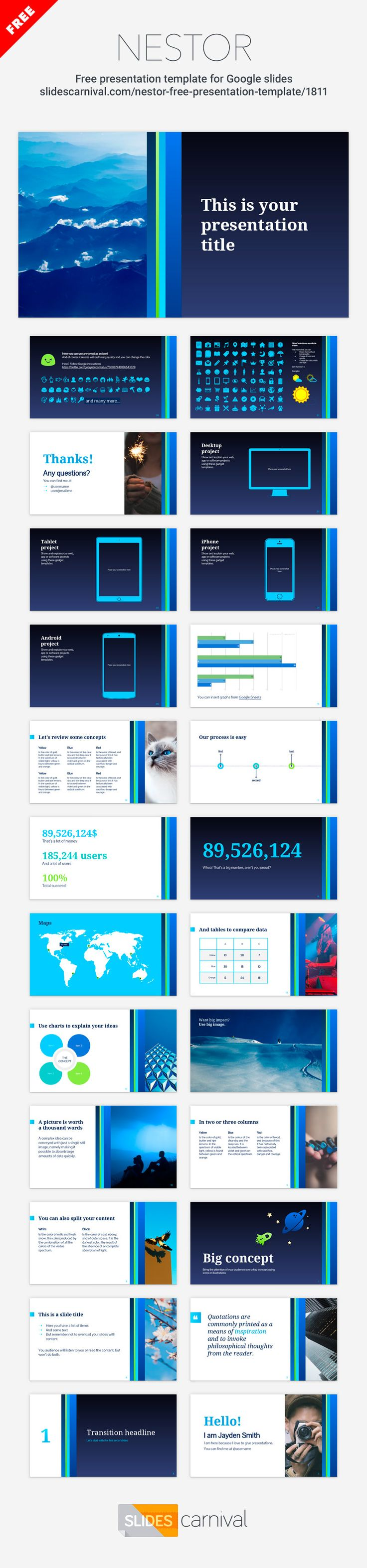 free presentation template powerpoint
