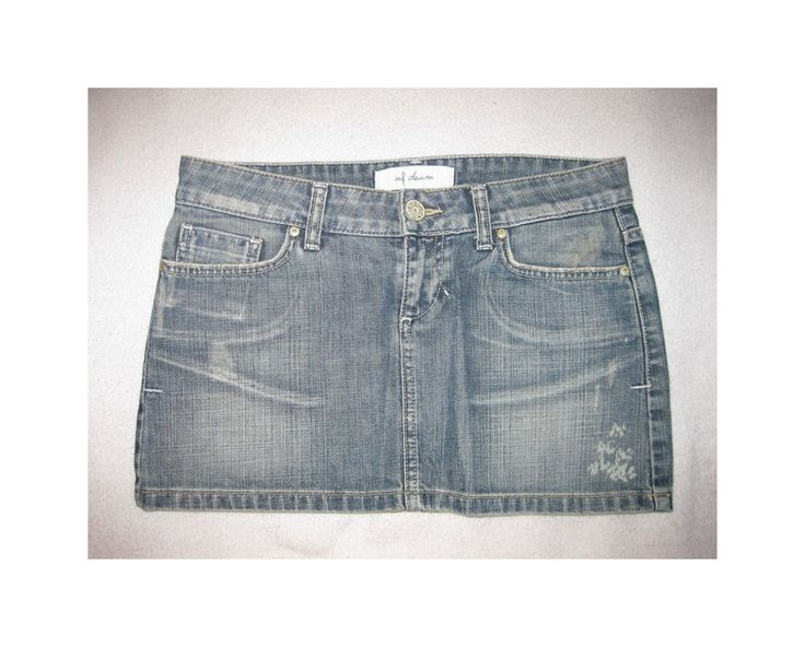 Jeans Minirock von Zara (trf denim) S - kleiderkreisel.de