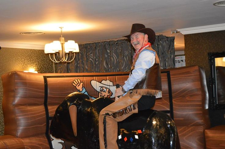 Wild West Themed Company Summer Ball complete with Rodeo Bull