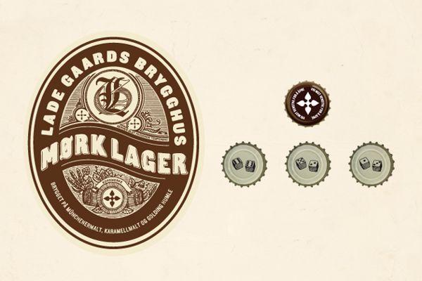 Beer label Lade Gaards Brygghus – Concept/packaging on Behance