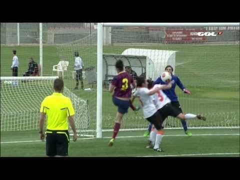 ▶ Resumen Gol Televisión Liga Fútbol Femenino Valencia CF - FC Barcelona - YouTube