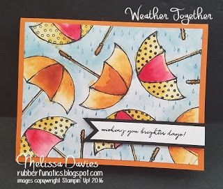 Stampin' Up! Weather Together by Melissa Davies @rubberfunatics #stampinup #rubberfunatics