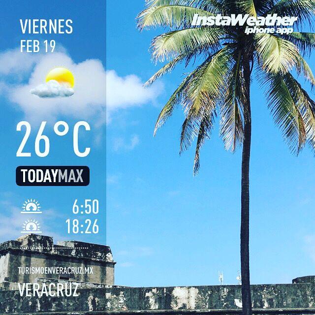 Un día muy caluroso en este #viernes #megusta www.turismoenveracruz.mx #FF #Veracruz