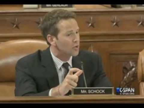 Rep. Aaron Schock gets HUGE APPLAUSE when calling out OFA / Dems - IRS S...