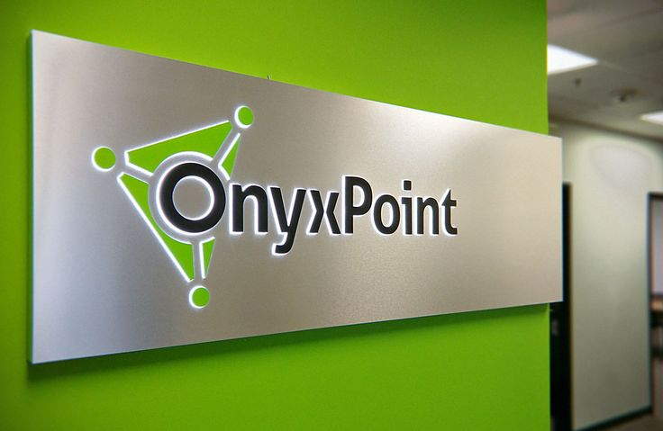 Onyx Point | by Younts Design #ydi #egd #onyxpoint #signage #aluminum