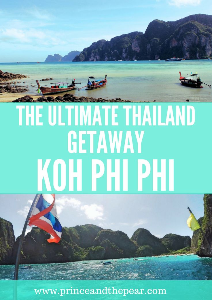 Koh Phi Phi Island the perfect Thailand getaway. We enjoyed everything from lazy beach days to kayak adventures. Monkey Beach Koh Phi Phi Thailand