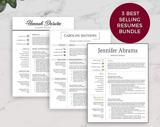 Best Professional Resume Template Images On   Resume