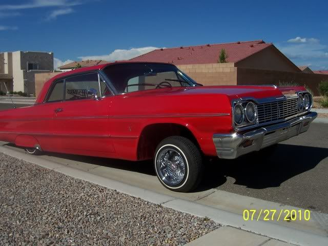 64 impala red whith swithces  | Thread: TRIPLE RED 64 IMPALA FOR SALE/TRADE
