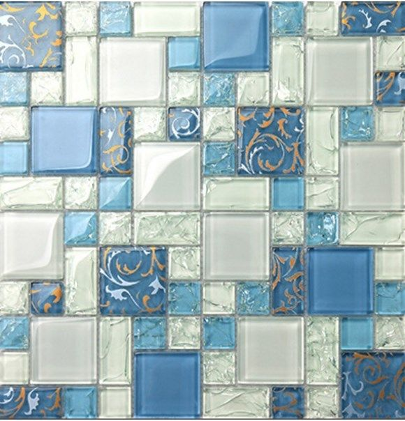 ExoTiles - LSCIG07 Blue and White Ice Crackle Mosaic, $430.00 (http://www.exotiles.com.au/lscig07-blue-and-white-ice-crackle-mosaic/)