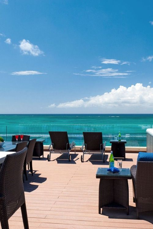 Windsong on the Reef - Providenciales Island, Turks and Caicos Islands -  The One-Bedroom Penthouse rooftop deck wows guests with an outdoor kitchen  and ...