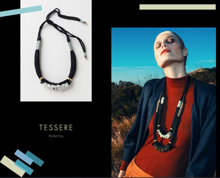 Tessere Neckpiece, Buy online: www.pichulik.com/shop