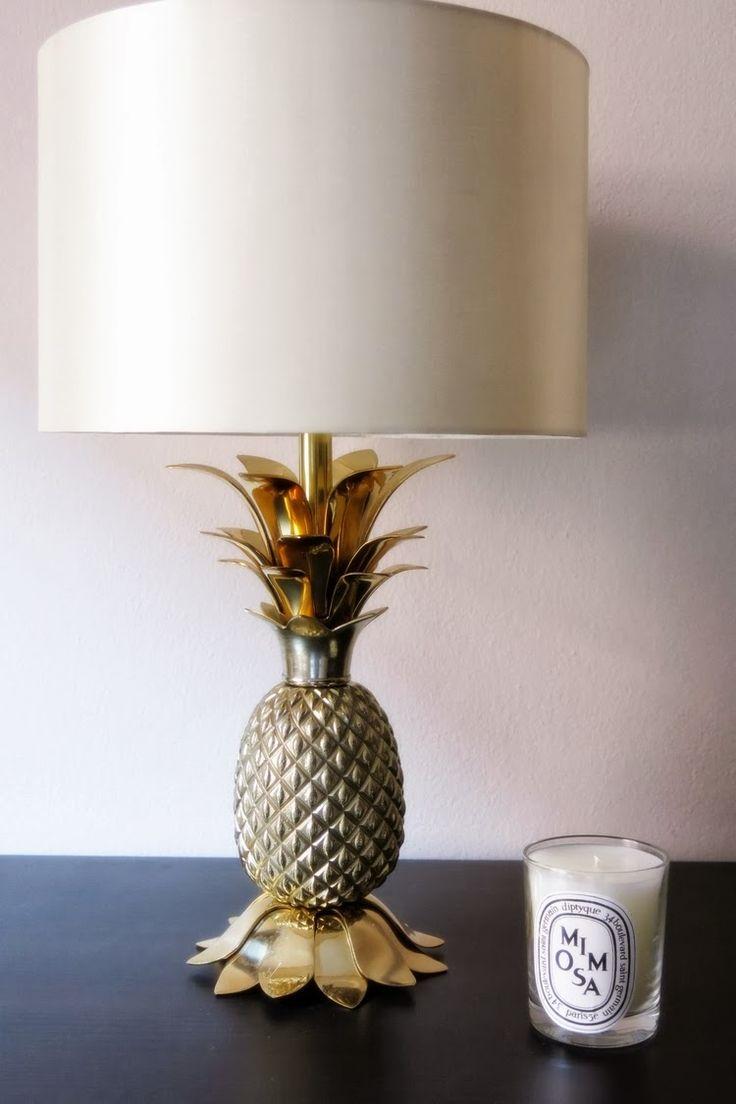 Days Full Of Glitter: PINEAPPLE · Gold PineappleLight FixturesFull ...