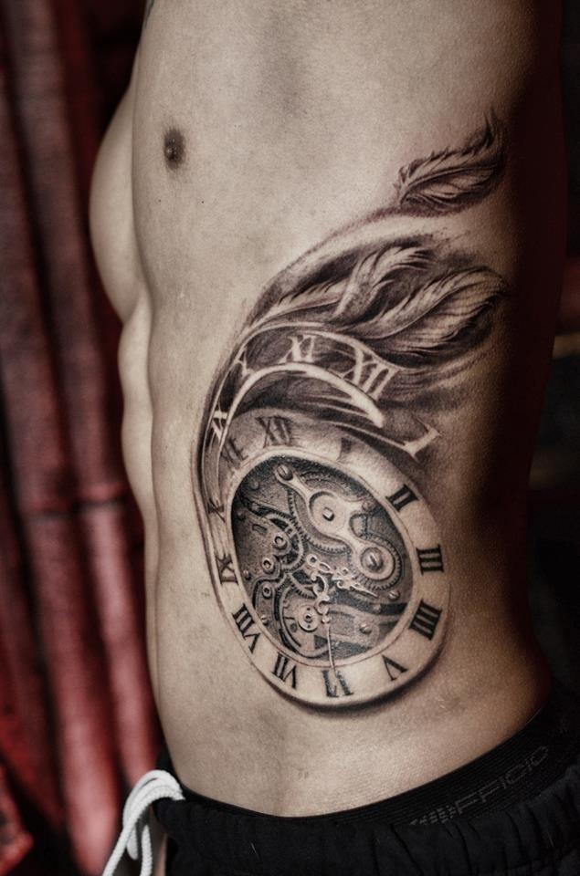 Darwin Enriquez Time Flies  Tattoos Pinterest
