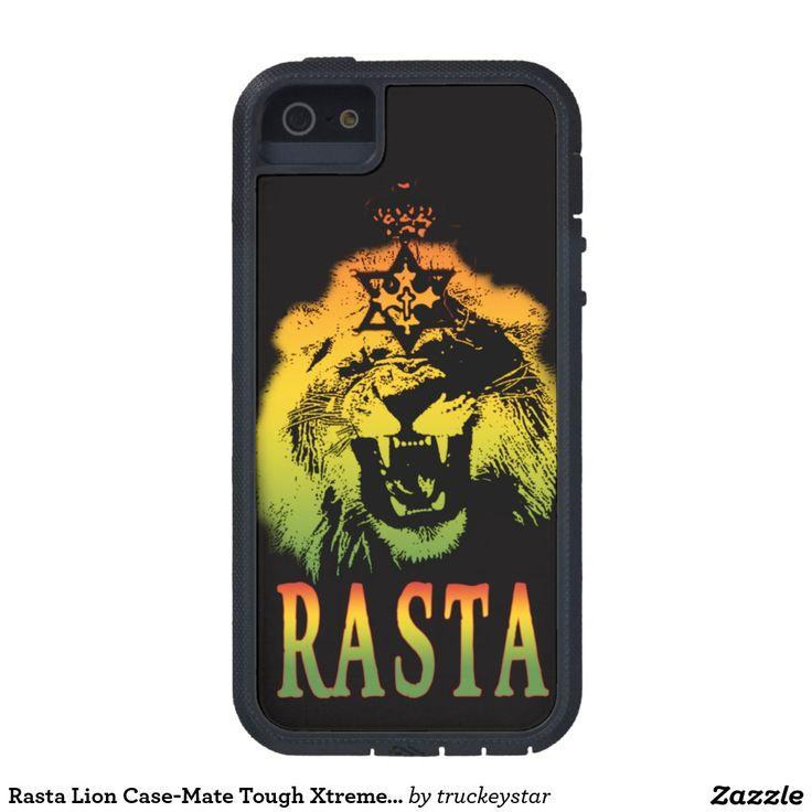 Rasta Lion Case-Mate Tough Xtreme iPhone 5/5S Case