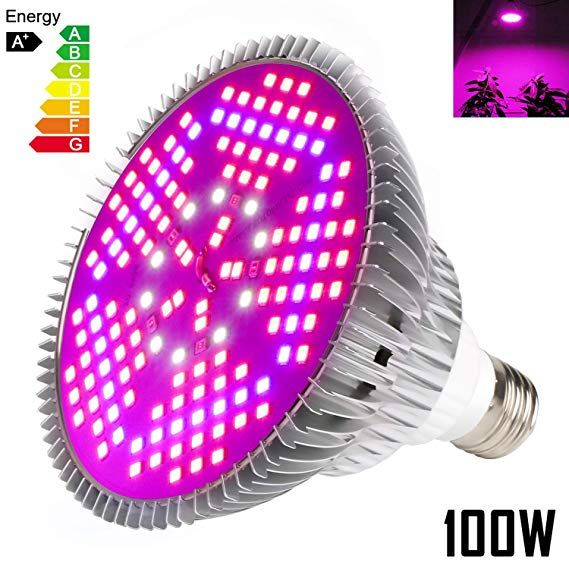Best 100w Led Grow Light Review For Your Indoor Plants Updated 2019 Led Grow Light Bulbs Led Grow Lights Grow Light Bulbs