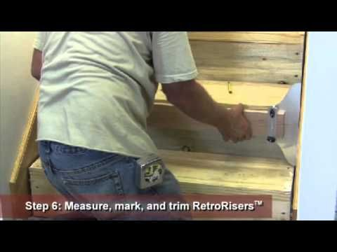 Installation Instructions For Replacing Or Remodeling Stair Treads On A  Closed Or Wall To