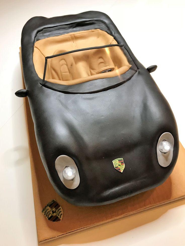 Porsche 3D cake
