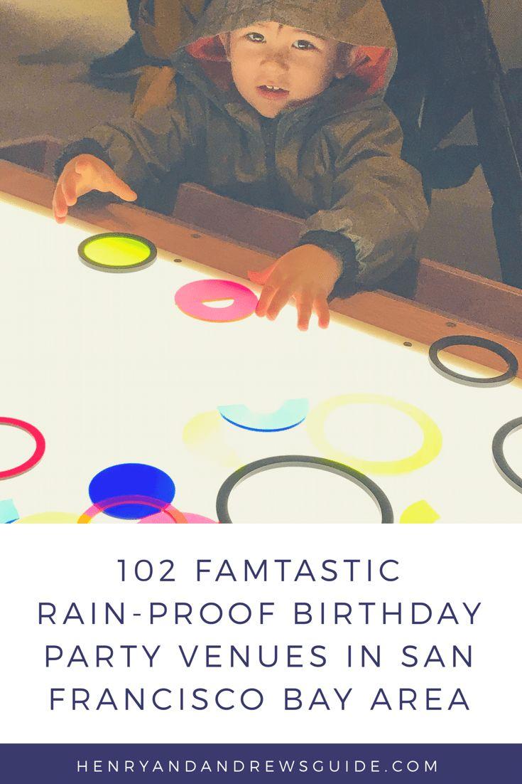Rainy Day Birthday Party | San Francisco Bay Area Birthday Party | San Francisco Birthday Party | Birthday Party Venues