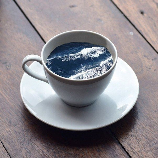 Тебе чай или кофе море картинка