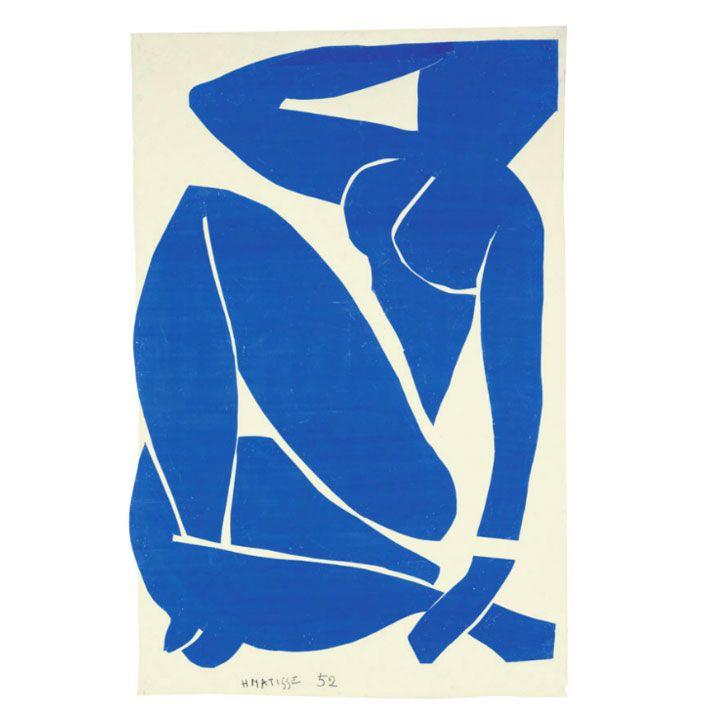 """Storia, descrizione e importanza della serie """"Nudi Blu"""", realizzata con la tecnica del cut-out da Henri Matisse in un periodo considerato come seconda vita."""