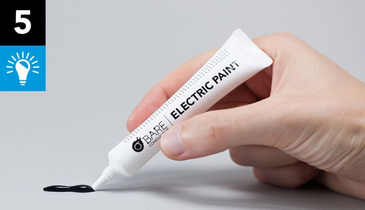5 Things You Can Do With Your Electric Paint 10ml Tube - Bare ConductiveBare Conductive
