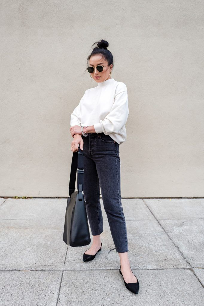 55c66144023 Everlane the form bag review look decent style work fashion jpg 682x1024  Everlane fall 2016 look