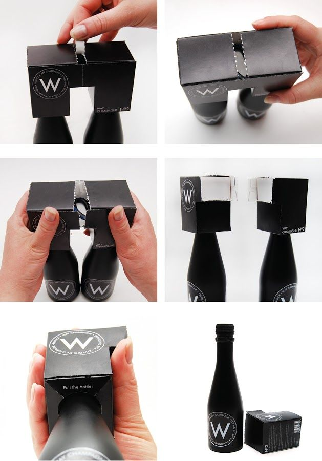 WAY Champagne (Student Project) on Packaging of the World - Creative Package Design Gallery Designers: Jenny Nölvand & Anna-Stina Nilsson  Project Type: Student Project  School: Brobygrafiska  Location: Sweden  See more at: http://www.packagingoftheworld.com/2014/11/way-champagne-student-project.html#sthash.NhYEDY69.dpuf