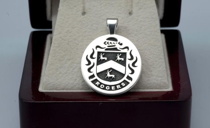 Rogers Family Crest Rings