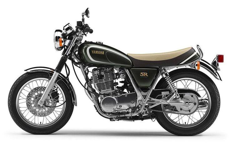 Yamaha SR400 35º Aniversario