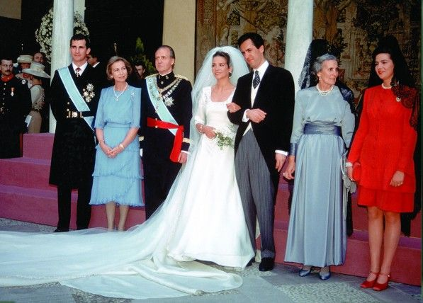 Miss Honoria Glossop Wedding Of Princess Elena Spain And Jaime De Marichalar With