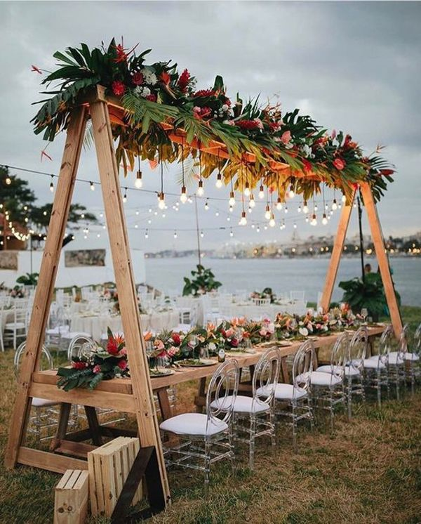 30 Simple And Memorable Boho Wedding Theme Ideas Beach Wedding Decorations Open Air Wedding Outdoor Wedding