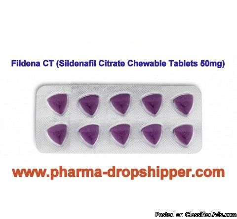 Fildena CT (Sildenafil Citrate Chewable Tablets 100mg) - Classified Ad