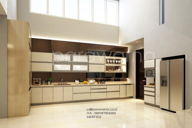 Desain elegant untuk dapur anda. by. Ardi www.parawarna.co.id