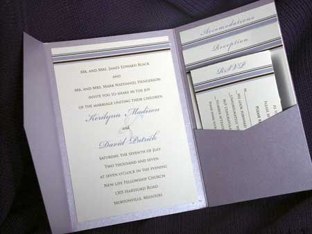 Pocket Wedding Invitations Best Template Collection Are The Ideal Ones For You