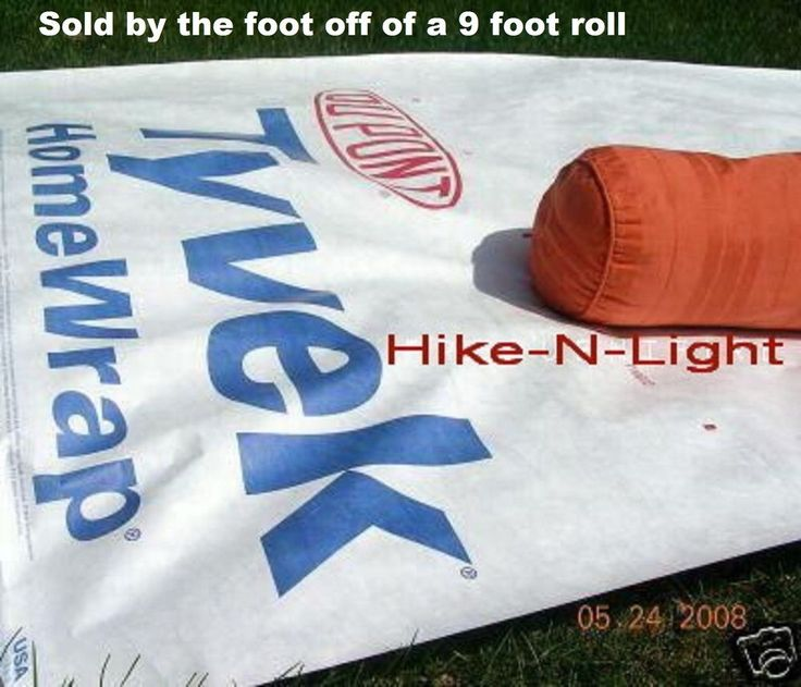 "MUST SEE = make many things with this tough waterproof ""tarp"" -see pinterest for ideas and patterns"