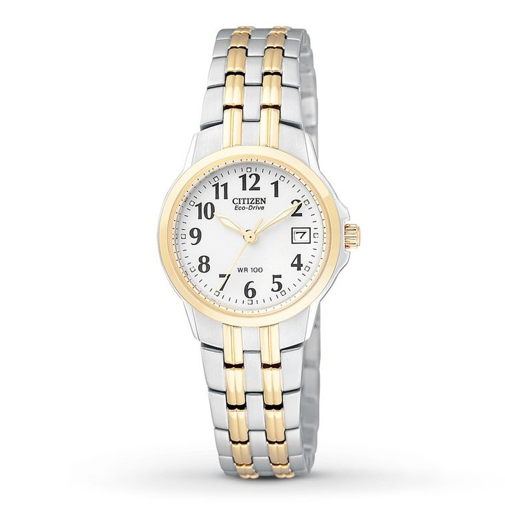 $245.00 Citizen Women's Eco-Drive Two-Tone Stainless Steel Bracelet