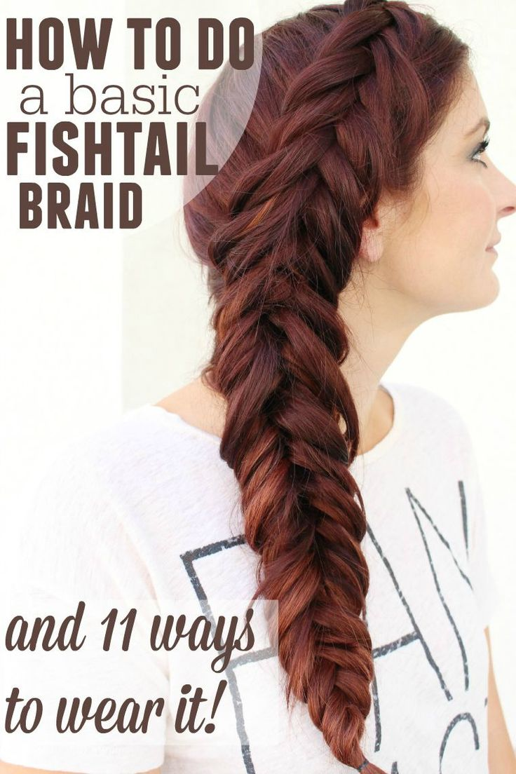 25+ best ideas about Easy Fishtail Braid on Pinterest ... Fishtail Braid How To