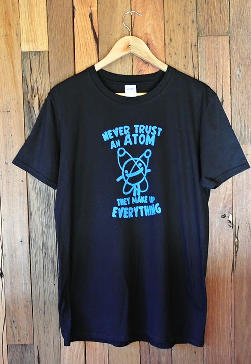 Mens T-Shirt Atom